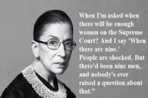 Notorious RBG_Women on court