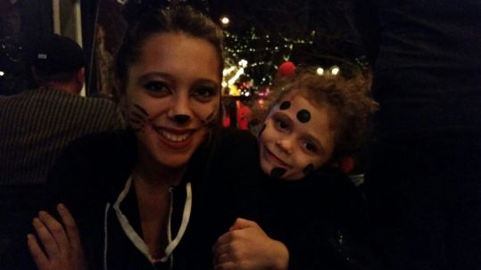 Nieces on All Hallows Eve